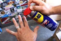 WD 40 uses around house Wd 40 Usos, Wd 40 Spray, Cracked Phone Screen, Toilet Cleaning, Kitchen Cleaning, Leather Furniture, Cleaning Hacks, Car Cleaning, Spring Cleaning