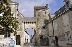 La Roche Posay, France.  Beautiful town!