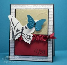 Creative Crew September - Timeless Butterflies by jentimko - Cards and Paper Crafts at Splitcoaststampers