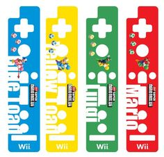 HORI Wii Remote Decoractive Skin - Super Mario Bros. Version C - Bros, Decoractive, HORI, Mario, Remote, Skin, Super, version Mario Bros., Childrens Hospital, Nintendo Wii Controller, Super Mario Bros, Video Game Console, Playroom, Remote, Video Games, Amazon