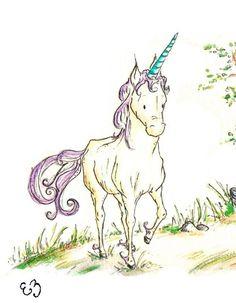 This item is unavailable Unicorn Books, Unicorn Kids, Unicorn Art, Little Unicorn, Baby Nursery Themes, Nursery Wall Art, Wall Art Decor, Nursery Ideas, Notebook Drawing