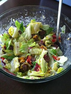 Bacon Cheeseburger Salad from Fresh Express 30 Day Salad Swap.