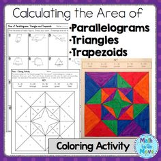 trapezoids puzzlethis cut out puzzle was created to help students practice applying the. Black Bedroom Furniture Sets. Home Design Ideas