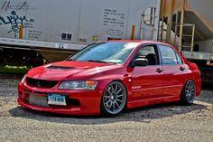 #Mitsubishi #Evo #Slammed #Stance #Modified Slammed Cars, Jdm Cars, Skyline Gtr, Nissan Skyline, Evo 9, Mitsubishi Lancer Evolution, Honda Fit, Japan Cars, Subaru Wrx