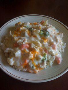 Easy Chicken Casserole Recipe #chicken #casserole #recipes
