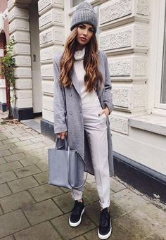47 Colorful Fall Outfits To Update You Wardrobe - Fashion New Trends Fall Outfits 2018, Fall Winter Outfits, Casual Outfits, Winter Clothes, Winter Dresses, Look Fashion, Winter Fashion, Fashion Outfits, Womens Fashion