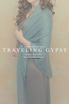 There are even subtle sequins in this knit shawl. I'm so glad it's a free pattern!!