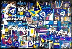 "Saatchi Art Artist Jonas Fisch; Painting, ""East City Kings"" #art"