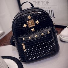 ==>DiscountFeitong Hot Fashion 2016 Women Backpack High Quality Rivet School Backpacks For Teenage Girls Women Pu Leather Backpack MochilaFeitong Hot Fashion 2016 Women Backpack High Quality Rivet School Backpacks For Teenage Girls Women Pu Leather Backpack MochilaCheap Price Guarantee...Cleck Hot Deals >>> http://id790638241.cloudns.hopto.me/32654001291.html images