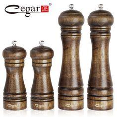 Cegar Classical Oak Wood Pepper Mill