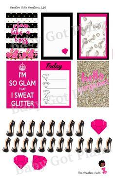 Plan Glam by BabyGotPlanz on Etsy