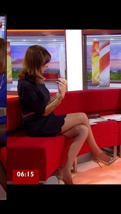 Beautiful Legs, Gorgeous Women, Amazing Legs, Great Legs, Nice Legs, Babestation Models, Sexy Older Women, Sexy Women, Bbc Breakfast Presenters