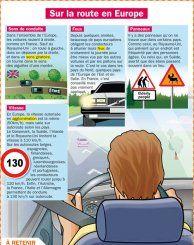 Sur la route en Europe - Mon Quotidien, le seul site d'information quotidienne pour les 10 - 14 ans !