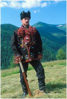 Ukrainian style. Hucul z dzembroni.