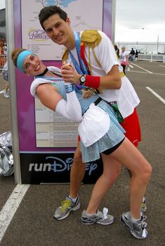 Disney Princess Half Marathon Blog... and the cutest costumes I've ever seen.