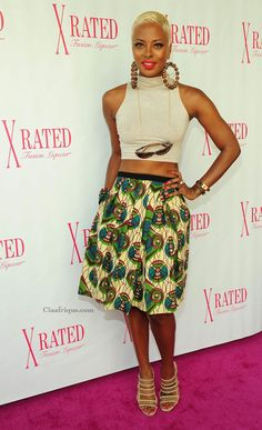 CIAAFRIQUE ™ | AFRICAN FASHION-BEAUTY-STYLE: celebrities in African print