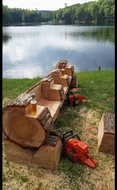 Outdoor Kitchens 687150855628900073 - Rustic Logs, So . - Outdoor Kitchens 687150855628900073 – Rustic Logs, Source by natfurno - Fire Pit Backyard, Backyard Patio, Backyard Landscaping, Backyard Projects, Outdoor Projects, Wood Projects, Backyard Ideas, Rustic Furniture, Garden Furniture