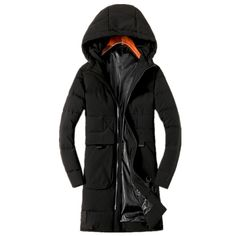 86.92$  Buy now - http://alir5i.worldwells.pw/go.php?t=32776090752 - 2016 winter men's Hooded High quality thicking Cotton quilted jacket Men's trench coat Winter jackets Parkas big size L-4XL