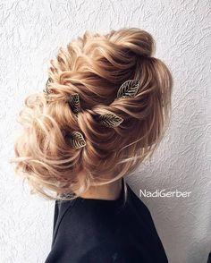 40 Stuning Long Curly Wedding Hairstyles from Nadi Gerber   Deer Pearl Flowers - Part 2