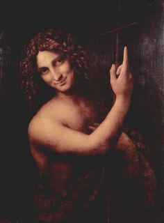 Da Vinci's paintings of John the Baptist impressed me to no end... felt like paintings of someone I've known, from another time