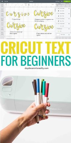 How to Edit Text in Cricut Design Space Like a Pro Get ready because at the end of this article you will master how to edit text in Cricut Design Space like PRO! I want to teach you how to fish and empower you with the knowledge to come up with cool ideas Cricut Ideas, Cricut Tutorials, Cricut Fonts, Cricut Vinyl, Cursive, Cricut Help, Cricut Craft Room, Circuit Projects, Diy Projects