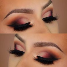 Eyeliner Tutorial - Eyeliner Tips Best Black Eyeliner, Perfect Eyeliner, White Eyeshadow, Glitter Eyeshadow, Makeup Art, Eye Makeup, Beauty Makeup, Insta Makeup, Eyeshadow Techniques