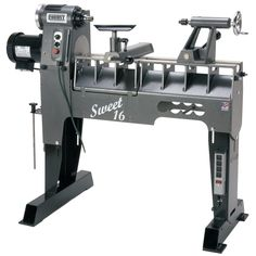 Robust Sweet 16 Woodturning Lathe, Short Bed - The Woodturning Store Woodturning Tools, Lathe Tools, Wood Turning Lathe, Wood Turning Projects, Lathe Projects, Wood Projects, Woodworking Kits, Woodworking Bench, Woodworking Chisels