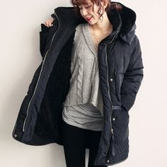 Gmarket - [Naning9] Quilted hem duck down jackets / loose fit / ...