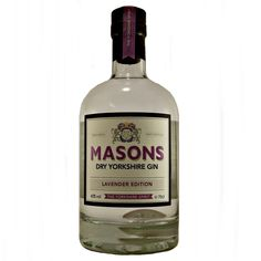 Masons Dry Yorkshire Gin Lavender Edition small batch available to buy online at specialist gin and whisky shop whiskys.co.uk Stamford Bridge York