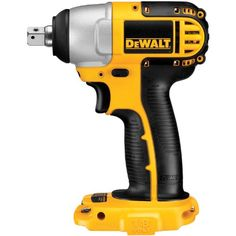 DEWALT Bare-Tool DC820B 1/2-Inch 18-Volt Cordless Impact Wrench (Tool Only, No Battery) #DIY