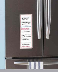 Martha Stewart Home Office™ Avery™ Dry Erase Vertical Weekly Planner Folder Organization, Home Organization Hacks, Organizing, Martha Stewart Home, Kitchen Labels, Kitchen Office, Bape, Weekly Planner, Spring Cleaning