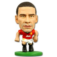 SoccerStarz Manchester United F.C. Rio Ferdinand - Rs. 499 Official #Football #Figurines from leading clubs across Europe.