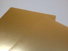 Bobine e fogli in oro opaco spessori 0,15 e 0,30