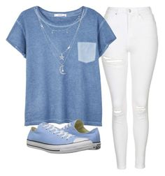 """""""Outfit"""" by sabichoux1427 ❤ liked on Polyvore featuring Topshop, MANGO, Converse and Charlotte Russe"""
