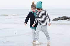 Gray Label AW15 Tied to the sea #Stripes #Seagreen #Nearly #Black #Grey #Melange #Girls #Boys #Autumn #Winter #Organic #New #GrayLabel
