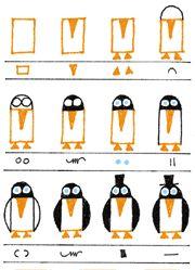 Draw Penguins