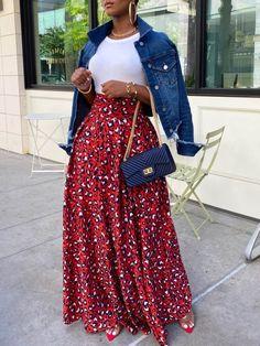 Black Girl Fashion, Cute Fashion, Modest Fashion, Spring Summer Fashion, Fashion Looks, Chic Outfits, Spring Outfits, Fashion Outfits, Fashion Wear
