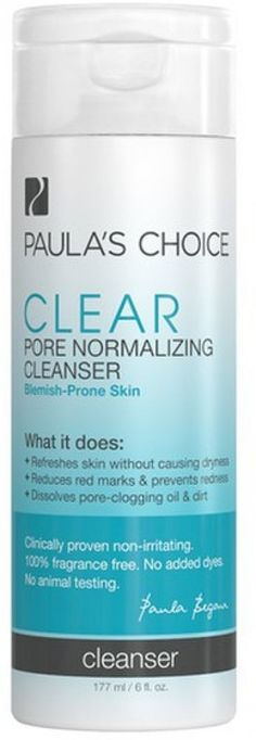 Paula's Choice Clear Pore Normalizing Cleanser (177ml)  http://www.ebay.co.uk/itm/Paulas-Choice-Clear-Pore-Normalizing-Cleanser-177ml-/131881733483?hash=item1eb4c38d6b:g:8NkAAOSwIgNXjQY6  Enjoy this Fantastic Offer. Check Luxury Home Gardens and buy this bargain Now!