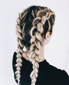 Dutch Braids You Can Rock This Season - Styles Art Long To Short Hair, Long Hair Cuts, Natural Hair Styles, Long Hair Styles, Girls Braids, Hair Day, Gorgeous Hair, Balayage Hair, Hair Looks
