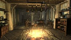 Skyrim tavern