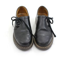 vintage 90's grunge ASYMMETRY side lace oxfords, i'm getting another pair..