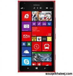 #Nokia_Lumia 1520 32 GB Red with lowest market rates only at Souqelkhaleej.com. If you want to buy then please click here ➜ http://goo.gl/S0aVBt