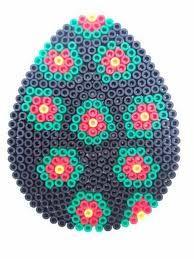 hama bead easter egg - Google Search