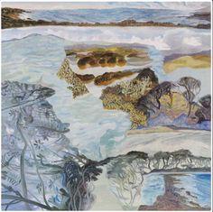 Barbara Tuck, Arai te Uru, 2013 from Ka ecologies Oil on board, 790 x Landscape Paintings, Abstract Paintings, New Zealand Art, Nz Art, Contemporary Landscape, Framed Wall Art, Amazing Art, Museum, Oil