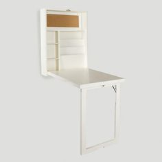 One of my favorite discoveries at WorldMarket.com: White Alden Foldout Convertible Desk