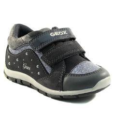 183A GEOX SHAAX B6433B GRIS www.ouistiti.shoes le spécialiste internet  #chaussures #bébé, #enfant, #fille, #garcon, #junior et #femme collection automne hiver 2016 2017