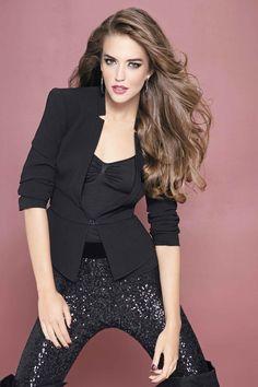 #sequin #pants #black #blazer