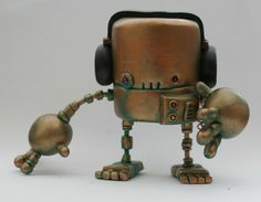 Steampunk Rusty Robots Show Special Telegraph Bot ONE DAY