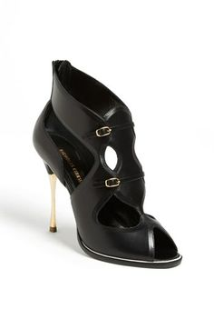 Nicholas Kirkwood Cutout Bootie available at #Nordstrom