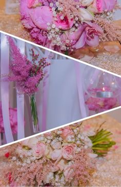 wedding Bouquet #pink #wedding #flowers #weddingbouquetpink